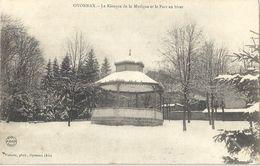 CPA Oyonnax Le Kiosque De La Musique Et Le Parc En Hiver - Oyonnax