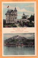 Lucerne Luzern Switzerland 1905 Postcard - LU Lucerne