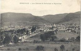 CPA Les Usines De Celluloid Et Oyonnax - Oyonnax