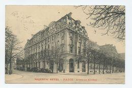 Paris, Majestic Hotel ( 2 Scans) - Pubs, Hotels, Restaurants