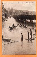 Lucerne Luzern Switzerland 1907 Postcard - LU Lucerne
