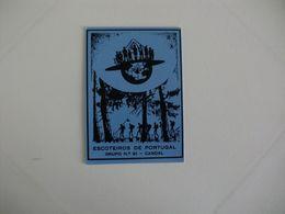 Scouts Escoteiros De Portugal Grupo Nº 91 Candal Portuguese Pocket Calendar 1990 - Calendari