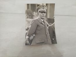 19264   PHOTO DE PRESSE 13X17CM ITALIE PIETRO BADOGLIO COMMANDANT MILITAIRE - Sin Clasificación