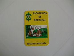 Scouts Escoteiros De Portugal Região De Santarém Portuguese Pocket Calendar 1992 - Calendari