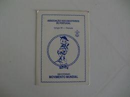 Scouts Escoteiros De Portugal Grupo Nº 90 Damaia Portuguese Pocket Calendar 1990 - Calendari
