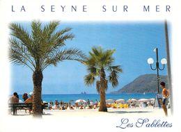 83 - La Seyne Sur Mer - La Plage Des Sablettes - Les Deux Frères - La Seyne-sur-Mer