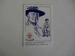 Scouts Núcleo Dos Antigos Escoteiros Grupo Nº 79 Portugal Portuguese Pocket Calendar 1990 - Calendari