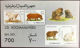 Somalia 1989 Animals Minisheet MNH - Zonder Classificatie