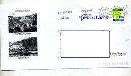 Pap Carte Verte Flamme Chiffrée Illustré Chamarandes Choignes - Prêts-à-poster:  Autres (1995-...)