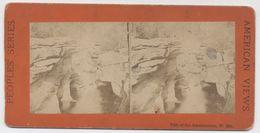 Vintage Stereo Albumen Print - FALLS OF THE AMMONOOSUC - White Mountains - NH USA -  Photo Ancienne Stéréoscopique - Photos Stéréoscopiques