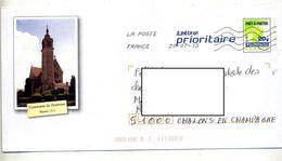Pap Carte Verte Flamme Chiffrée Illustré Dontrien - Prêts-à-poster:  Autres (1995-...)
