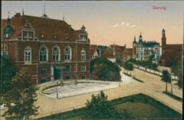 AK Danzig / Gdansk Teilansicht (40106) - Danzig