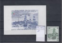 Französisch Polynesien Michel Cat.No. Mnh/** 435 + Sheet 11 - Polynésie Française