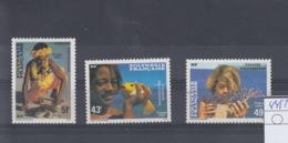 Französisch Polynesien Michel Cat.No. Mnh/** 445/447 - Polynésie Française