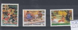 Französisch Polynesien Michel Cat.No. Mnh/** 457/459 - Polynésie Française