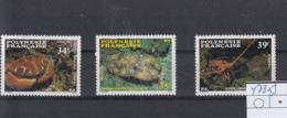 Französisch Polynesien Michel Cat.No. Mnh/** 473/475 - Polynésie Française