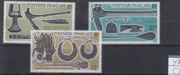 Französisch Polynesien Michel Cat.No. Mnh/** 488/490 - Polynésie Française