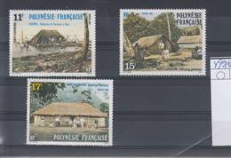 Französisch Polynesien Michel Cat.No. Mnh/** 499/501 - Polynésie Française