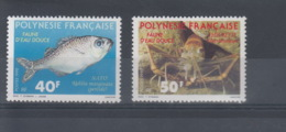 Französisch Polynesien Michel Cat.No. Mnh/** 551/552 - Neufs