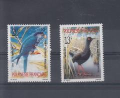 Französisch Polynesien Michel Cat.No. Mnh/** 559/560 Birds - Neufs