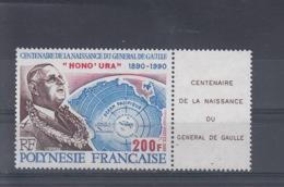 Französisch Polynesien Michel Cat.No. Mnh/** 564 De Gaulle - Neufs
