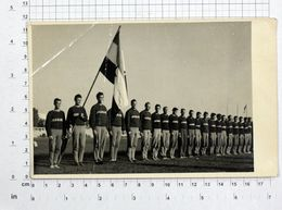 Athletic Team Of Yugoslavia, 1952, Vintage Photo Postcard / SPORT1-28 - Atletismo