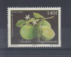 Französisch Polynesien Michel Cat.No. Mnh/**  Issued 2012 140F Grapefruit - Neufs