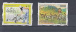 Französisch Polynesien Michel Cat.No. Mnh/**  Issued 2012 75/100F Turtle Horse - Neufs
