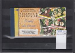 Französisch Polynesien Michel Cat.No. Mnh/** Booklet 788/799 - Carnets