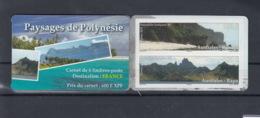 Französisch Polynesien Michel Cat.No. Mnh/** Booklet Issued 2012 - Carnets