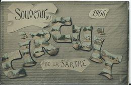 SOUVENIR DU CIRCUIT DE LA SARTHE 1906 - France
