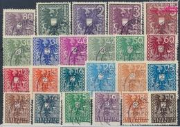 Österreich 697-719 (kompl.Ausg.) Gefälligkeitsentwertung Gestempelt 1945 Wappen (9458155 - 1945-60 Usados
