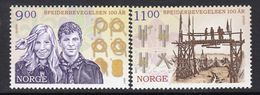 Norway 2007 Europa CEPT Set Of 2, MNH (A) - Europa-CEPT