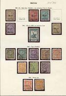 Used Stamps, Lot, Portugal, Macau, Macao  (Lot 348) - Macao