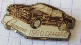 Pin's - CHEVROLET CAMARO 1980 - Pin's & Anstecknadeln