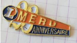Pin's - Hypermarché LECLERC - MÉRU - 23 Eme Anniversaire - Alimentation