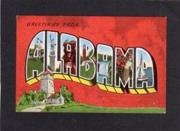 95046    Stati  Uniti,   Greetings  From  Alabama,  NV - Etats-Unis
