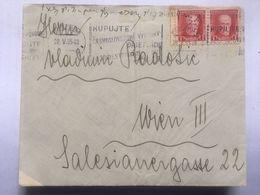CZECHOSLOVAKIA 1935 Cover Poprad To Vienna / Wien - Storia Postale