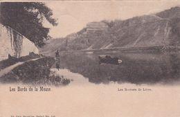 CPA Les Bords De La Meuse - Les Rochers De Lives (Lives-sur-Meuse) - Taxée - Nels Serie 7 N°100 - Année 1900 - Namur
