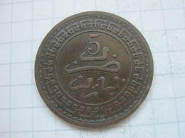 Morocco , 5 Mazunas 1321 (1903) Paris Mint - Marokko