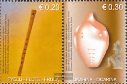 Kosovo 20-21 (complete Issue) Unmounted Mint / Never Hinged 2004 Holzblasinstrumente - Ungebraucht