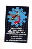 Carte De Visite Transport Guepe Mobile Scooter - Cartes De Visite