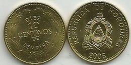 Honduras 10 Centavos 2006. High Grade - Honduras