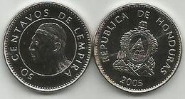 Honduras 50 Centavos 2005. High Grade - Honduras