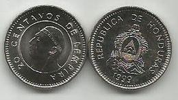 Honduras 20 Centavos 1999. High Grade - Honduras
