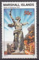 Marshall Islands 1992 WO II Battle Of Stalingrad 1942  Michel 437  MNH 28047 - Marshall