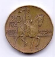 CESKA REPUBLIKA 2004: 20 Korun, KM 5 - Czech Republic