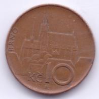 CESKA REPUBLIKA 1996: 10 Korun, KM 4 - Czech Republic
