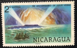 Nicaragua - A1/27 - (°)used - 1978 - Jules Verne - Michel Nr. 2038 - Nicaragua