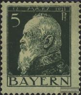 Bavaria 77I With Hinge 1911 Prince Regent Luitpold - Bavaria